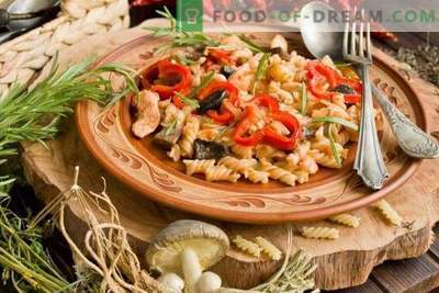 Chicken and Mushroom Pasta - Affordable Classics of Italian Cuisine