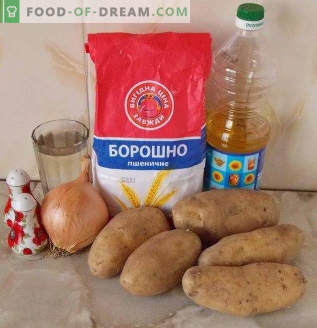 Knödel mit Kartoffeln