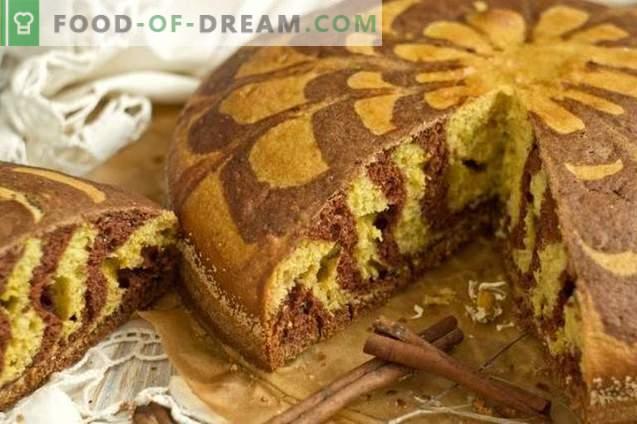 Hausgemachte Torte auf Sauerrahm