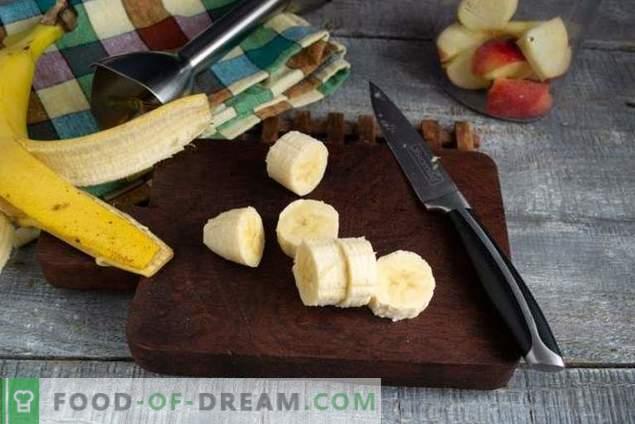Nahrhafter Bananen-Smoothie