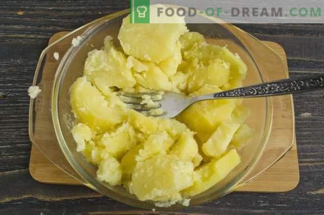 Kartoffeltorte mit Hackfleisch und Gemüse