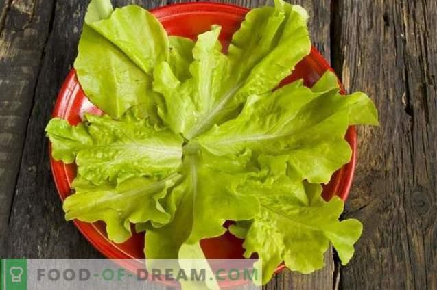 Salat mit geräuchertem Hühnchen und Kichererbsen
