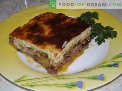 Griechisches Moussaka oder