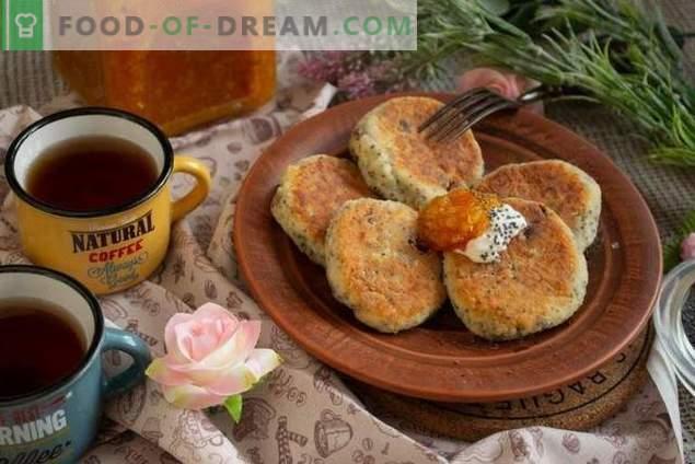 Käsekuchen mit Mohn und Rosinen - der Geschmack der Kindheit