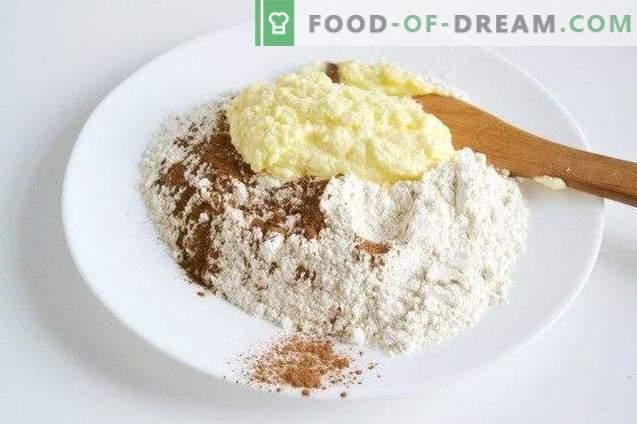 Shortcake mit süßer Katzenzimt