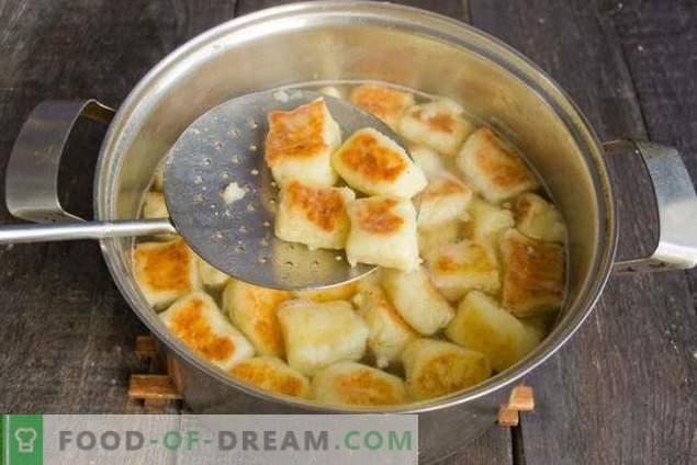 Švilpikai - Litauische Kartoffelknödel
