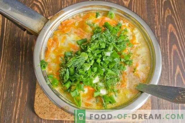 Fischsuppe mit Kartoffelknödeln