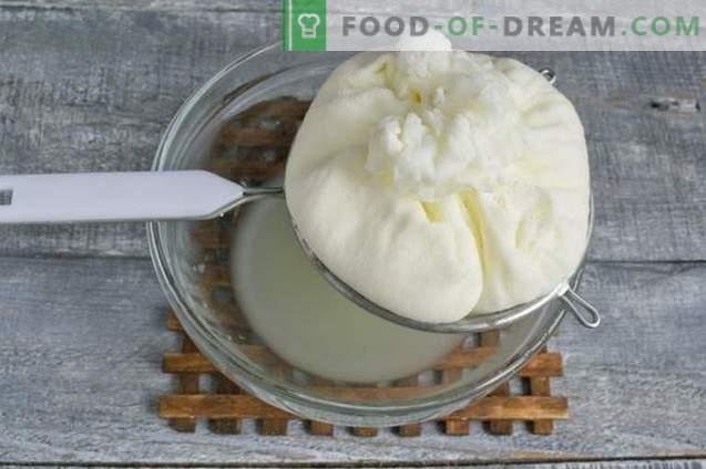 Kefir domowy i ser mleczny