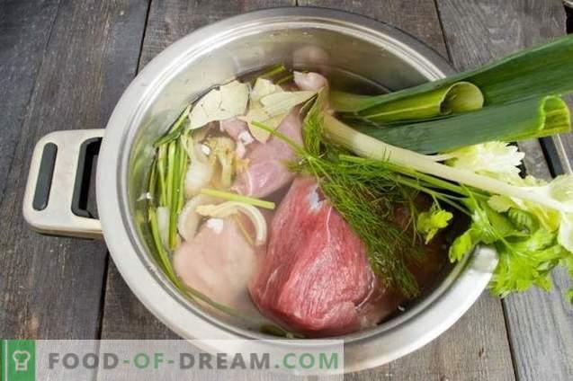 Köstliches Schweinefleisch mit Fenchel und Gemüse