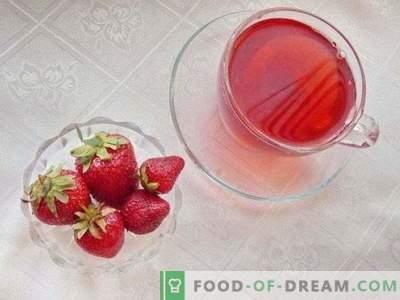 Compot de căpșuni