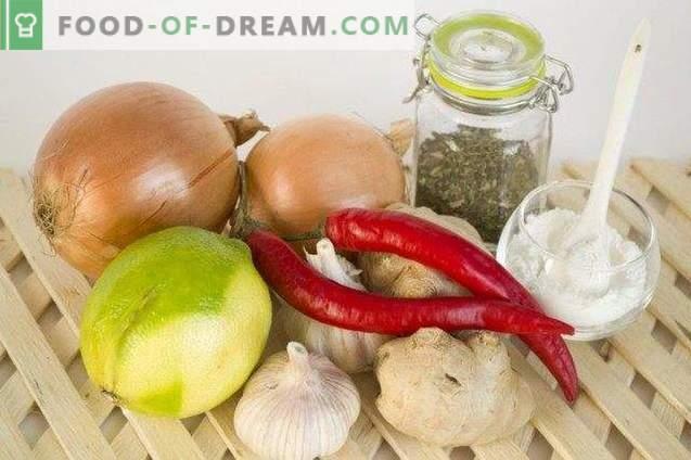 Thai-Chili-Sauce mit Zwiebeln und Ingwer
