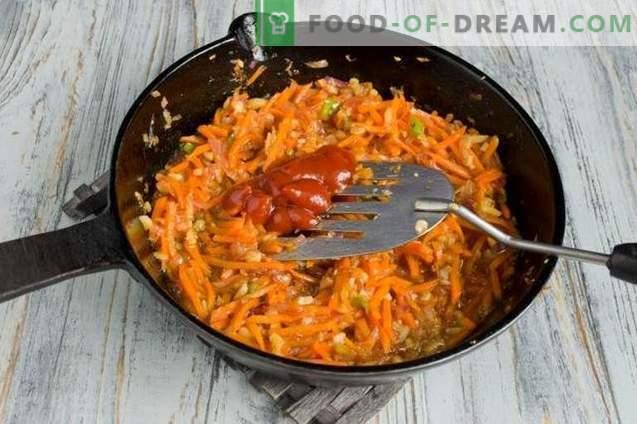 Piščanec v sladki in kisli omaki