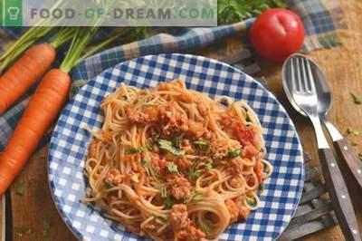 Navy Pasta - einfach, lecker, befriedigend