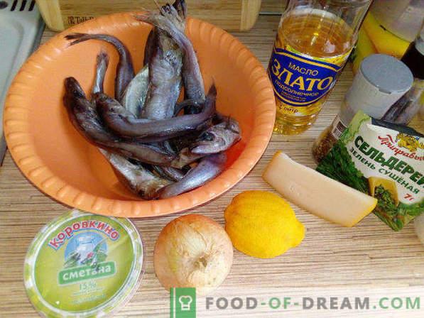 Whiting im Ofen, Rezept unter Käsekruste
