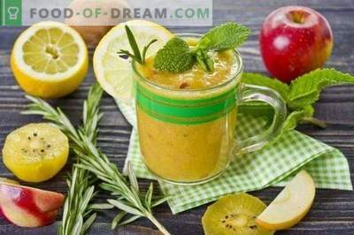Kiwi-Nektarinen-Smoothie