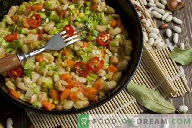 Gemüseeintopf mit Bohnen