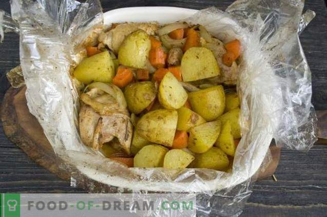 Oven Baked Chicken with Potatoes