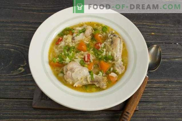 Chicken Wings Suppe