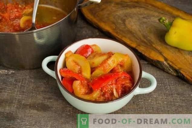 Zucchini-Eintopf mit Tomaten und Paprika