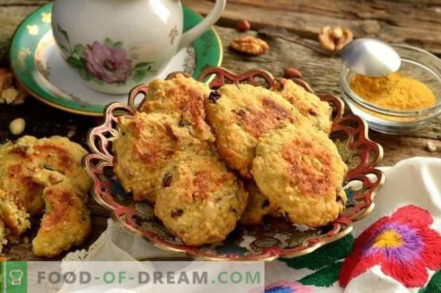 Selbst gemachte Kekse in Eile