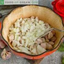 Schweinefleisch mit Zucchini und Kartoffeln