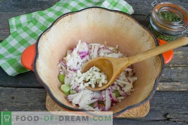 Cremesuppe mit Zucchini und Hühnchen