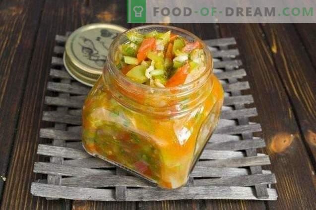 Nudelsauce mit Paprika und Tomaten