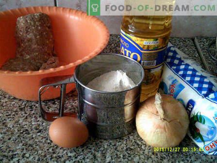 Wie man Pasteten zu Hause lecker und schnell macht
