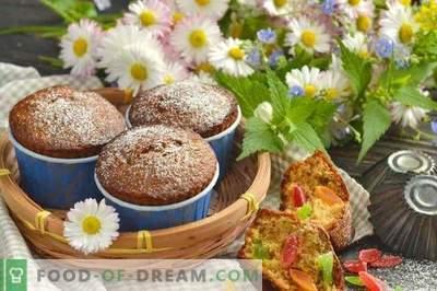 Kandierte Muffins