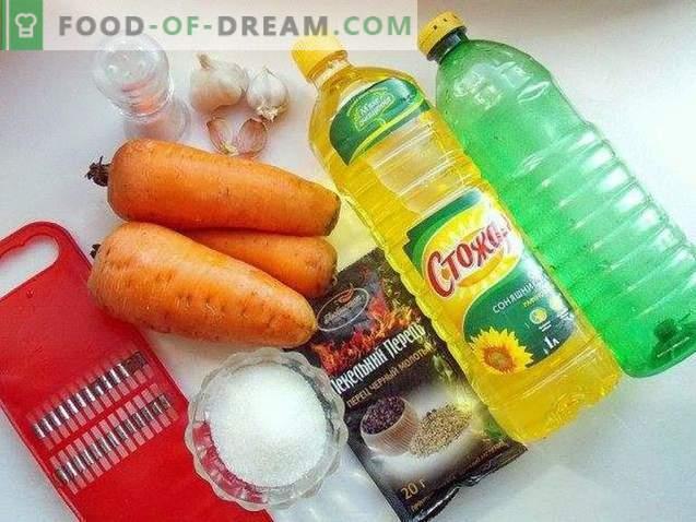 Köstliche koreanische Karotte