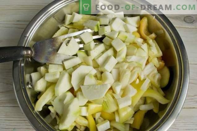Auberginensalat für den Winter ohne Sterilisation