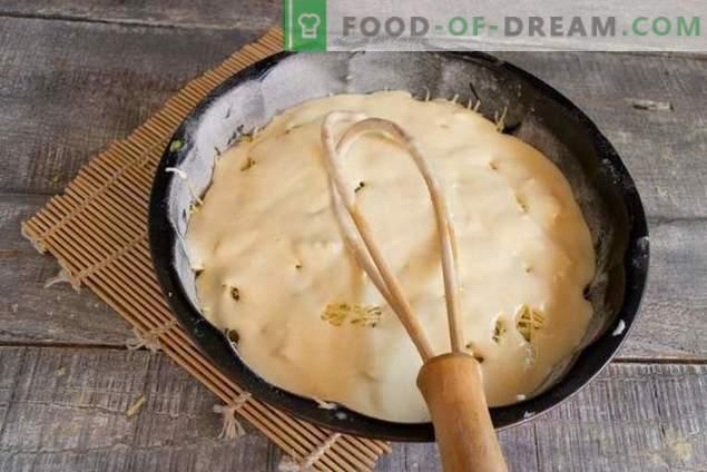 Pie mit Fischkonserven - ohne viel Aufwand