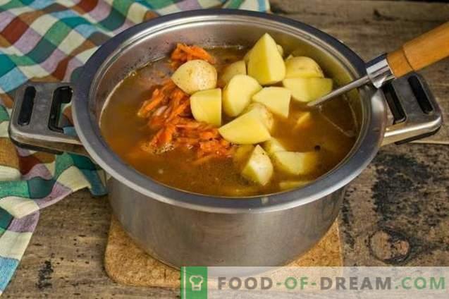 Bohnensuppe mit Rippen