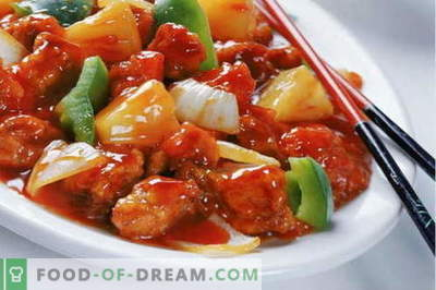 Piščanec v kitajščini - najboljši recepti. Kako pravilno in kuhati kitajski piščanec.