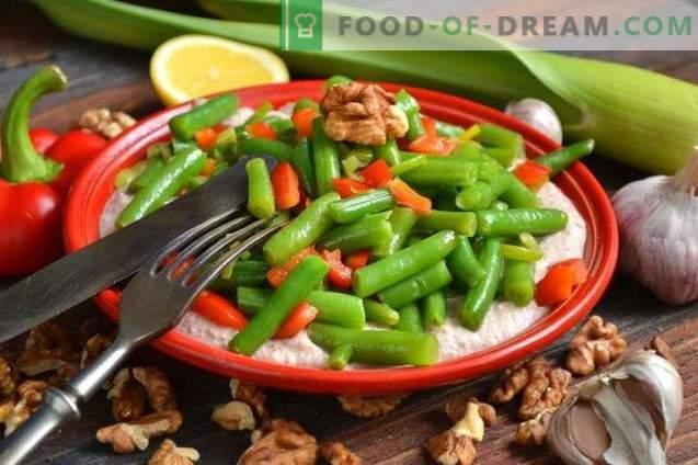 georgische grüne Bohnen