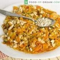 Torte mit Hühnchen und Gemüse