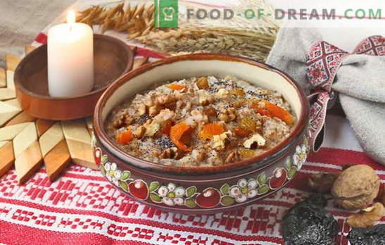 Reis mit Rosinen-Kutia zubereiten. Rezepte für Kutia-Gedenk mit Rosinen und Weihnachtskutia