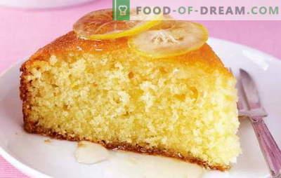 Eile auf Kefir - verfügbar! Die besten Rezepte für Kuchen auf Kefir in Eile: mit Marmelade, Äpfeln, Fisch usw.