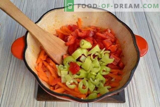 Супер тиква со пиперки и компири