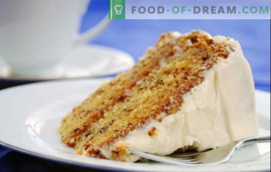 Sponge cake with condensed milk - create your masterpiece! Recipes of the original biscuit cakes with condensed milk