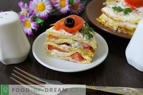 Zucchini-Torte - ein origineller Snack und ein wunderbarer Genuss