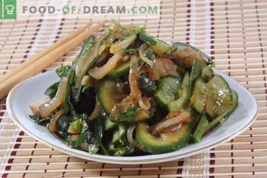 Salate mit Sojasauce - eine Auswahl der besten Rezepte. Wie man richtig und lecker Salate mit Sojasauce zubereitet.