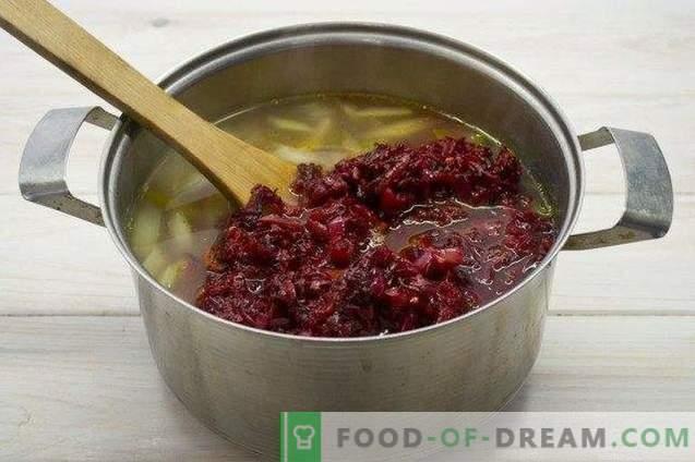Vegetarischer Borschtsch - Rote-Bete-Suppe