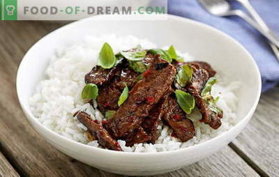 Thailändisches Fleisch ist in Ihrer Küche exotisch. Die besten Rezepte für Fleisch auf Thailändisch: Hühnchen, Rindfleisch, Kalbfleisch, Schweinefleisch