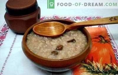 Cozinhando mingau de cevada na água - um café da manhã saudável em vinte minutos. Como preparar mingau de cevada na água e no leite?