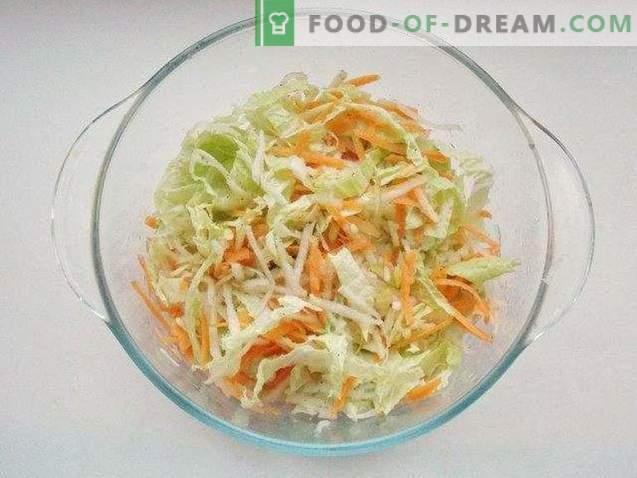 Einfacher Peking-Kohlsalat