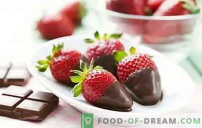 Erdbeeren in Schokolade zu Hause: Rezepte für ein zauberhaftes Dessert. Wie man zu Hause Erdbeeren in Schokolade kocht