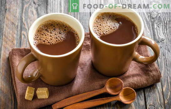 Kakao kochen - wir machen unser Zuhause glücklich! Wie man Kakao in Milch, aus Pulver, mit Kondensmilch, mit Honig, mit Zimt und Marshmallows