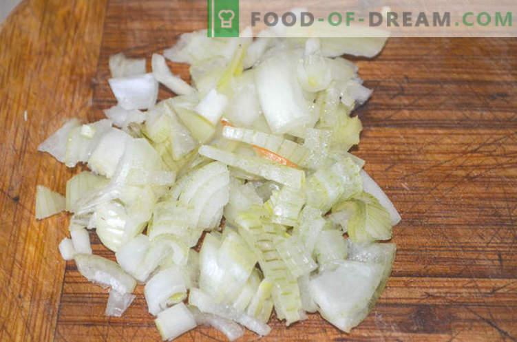 Suppe mit Hühnerbrüchen oder wie man Gleb Zheglov-Suppe zubereitet - ein Rezept