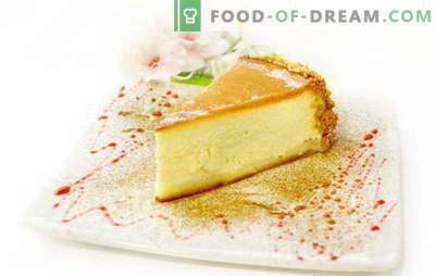 Klassischer Käsekuchen - Dessert für alle Desserts! Die besten Rezepte für einen klassischen Käsekuchen für ein süßes Leben: einfach und komplex